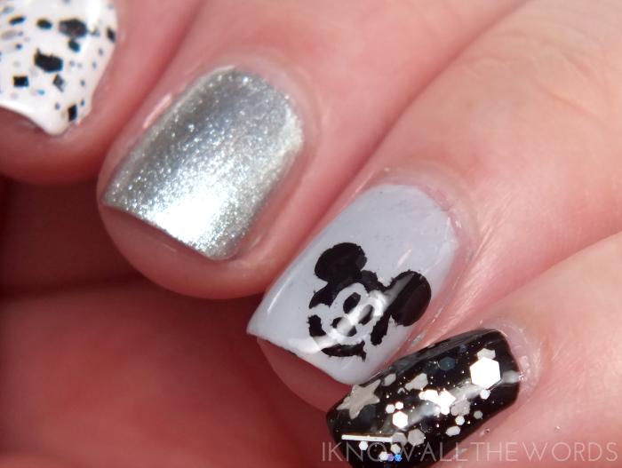 smART nails stencils- P033 Mouse (4)