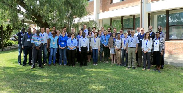 Participants at ECF Consortium 2015 annual meeting