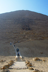 Entrance to the Red Pyramid