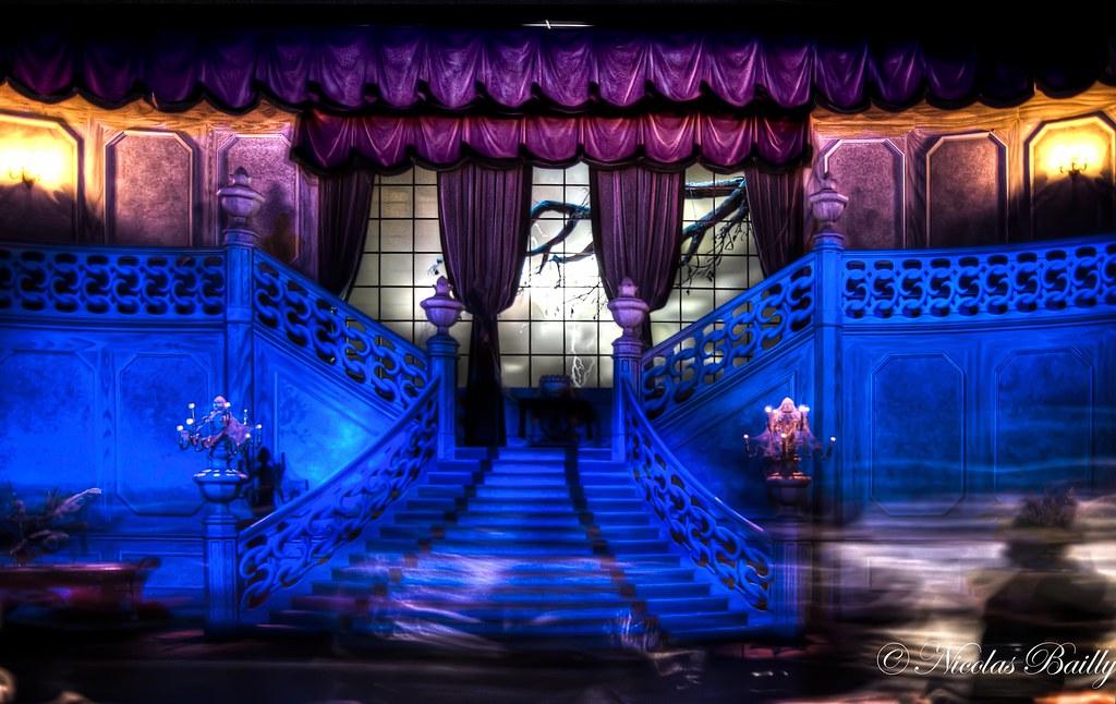 Mischievous Ghosts Inside The Phantom Manor