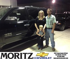 #HappyAnniversary to Courtney Mcfadin on your 2014 #Chevrolet #Tahoe from Everyone at Moritz Chevrolet!