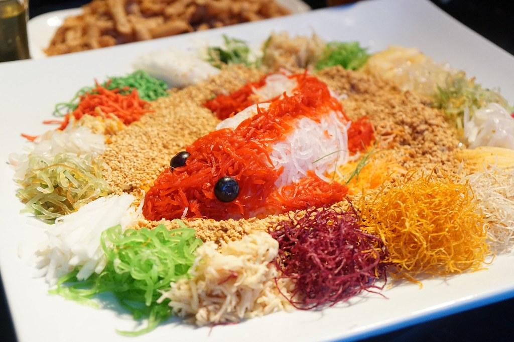 chinese new year menu - review - five sen5es westin KL