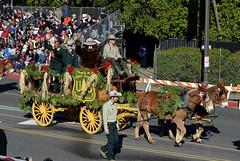 U.S. Forest Service Rose Parade Wagon
