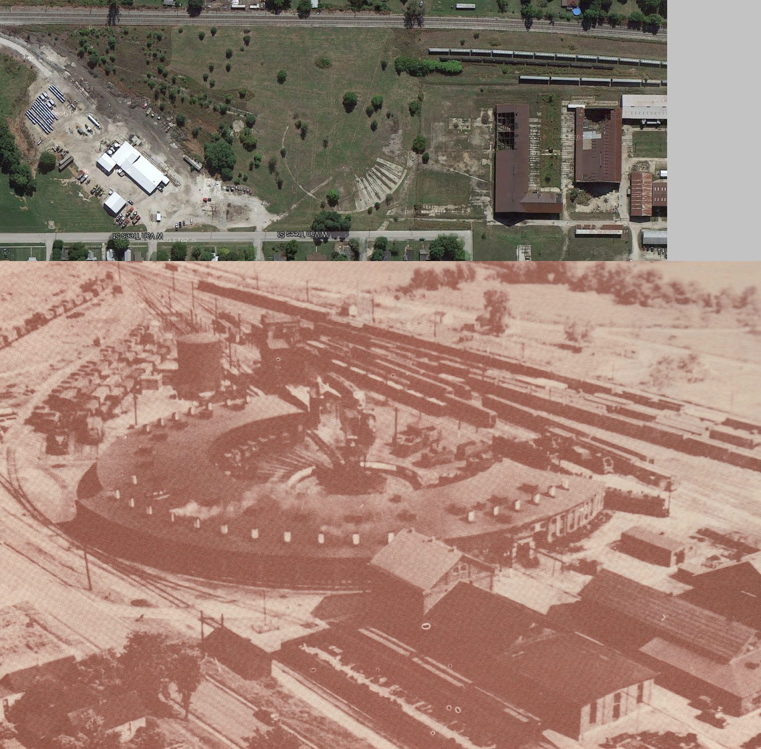 Indiana knox county ragsdale - Washington Indiana Roundhouse Then And Now