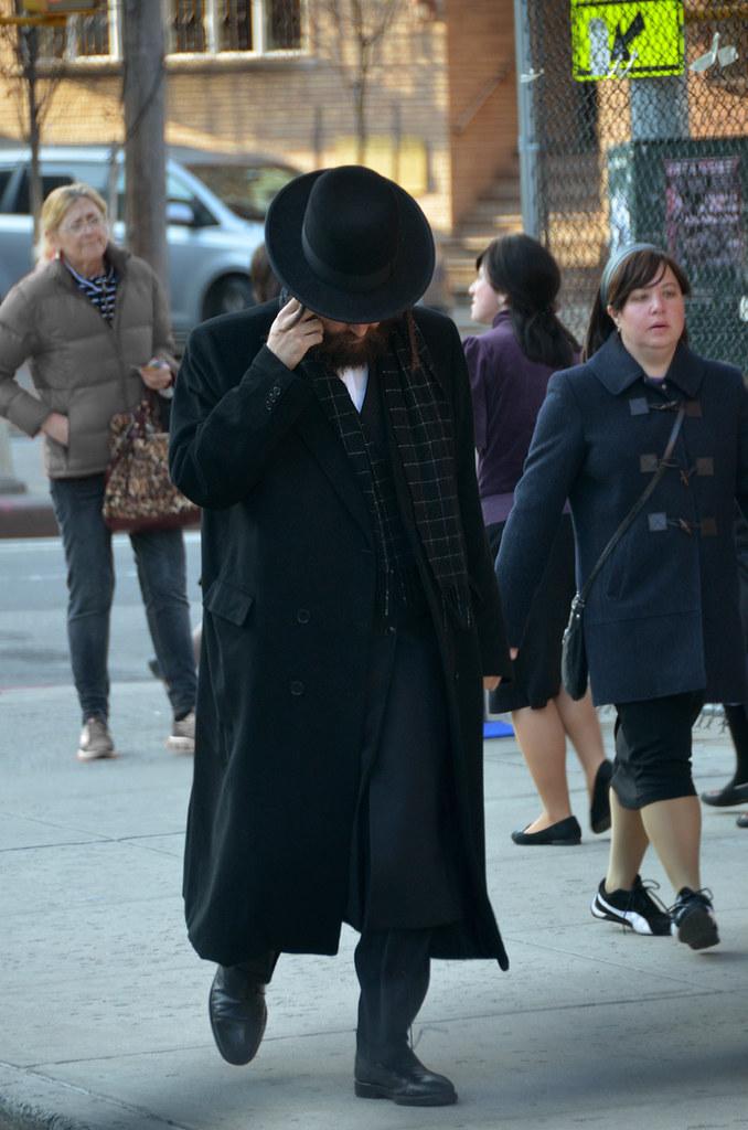 Judio Ortodoxo del barrio judío de Nueva York