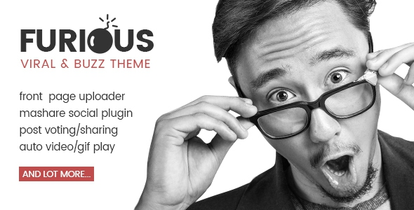 Furious v1.0.2 - Viral & Buzz WordPress Theme
