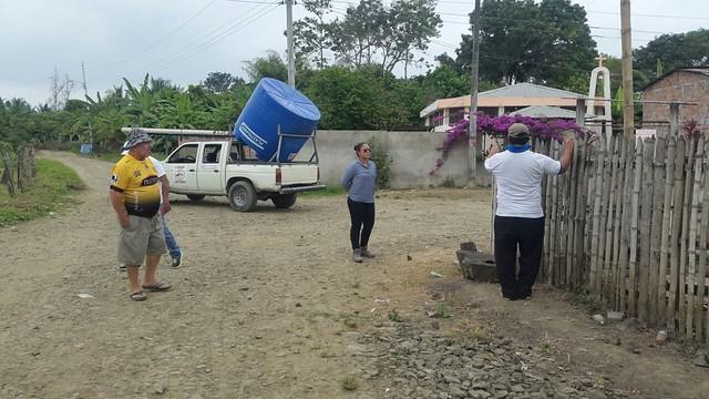 Aguas del Chuno entregó tanque reservorio de agua para Punta y Filo