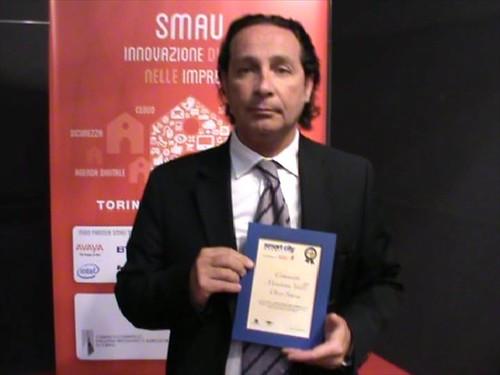 Premio Smart City alla Comunità Montana Valli Orco e Soana