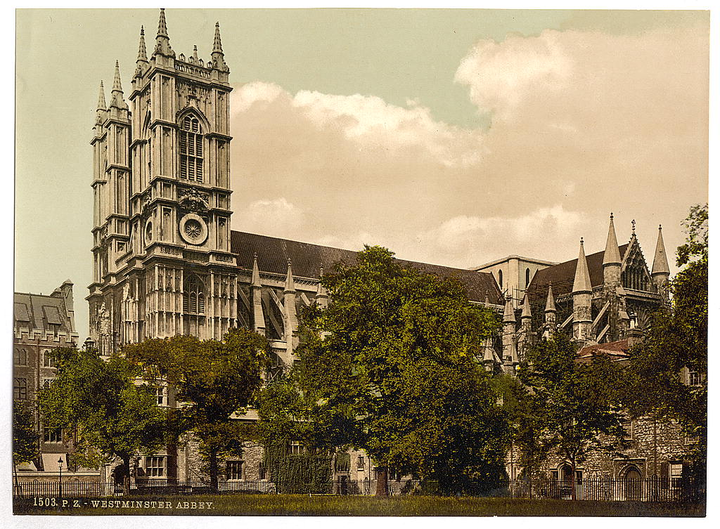 [Westminster Abbey, London, England] (LOC)