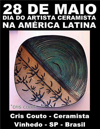 Dia do ceramista ~ 28 de maio by cris couto 73