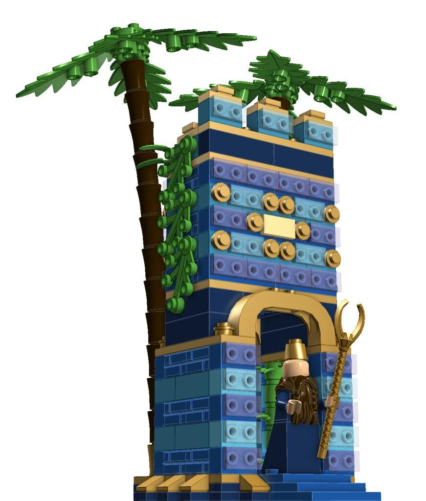 Nebuchadnezzar and the Hanging Gardens (temple mini-module)