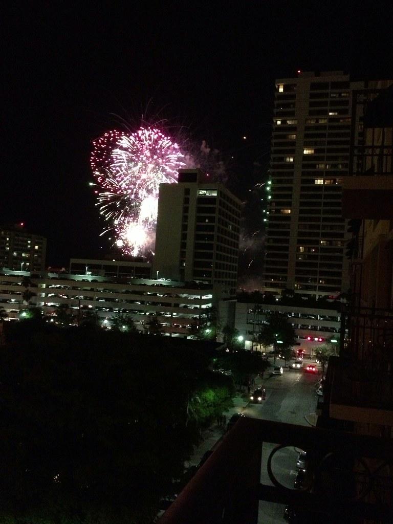 Sunfest Fireworks