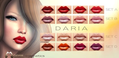 Daria-lipstick sets by ::Modish::