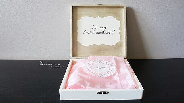 Askin' My Girls - bridesmaids boxes