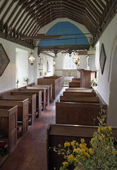 Besselsleigh Church (St.Lawrence), Oxfordshire (Old Berkshire)