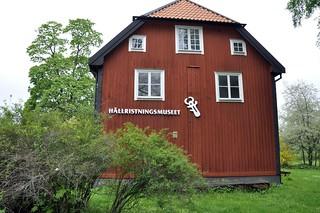Hällristningsmuseet invid Brunnssalongen i Himmelstalund.