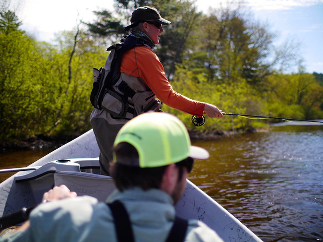 Driftboat Trip Solon section of the Kennebec River Photo by Brian Donaghy