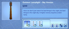Outdoor Lamplight - Sky Version