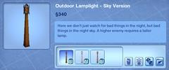 Outdoor Lamplight - Sky Version