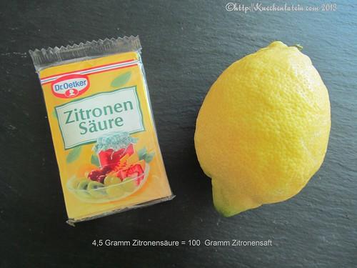 ©Zitronensaure vs. Zitronensaft