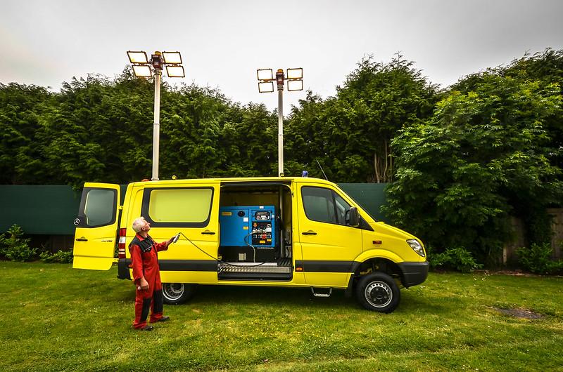 Lighting Van
