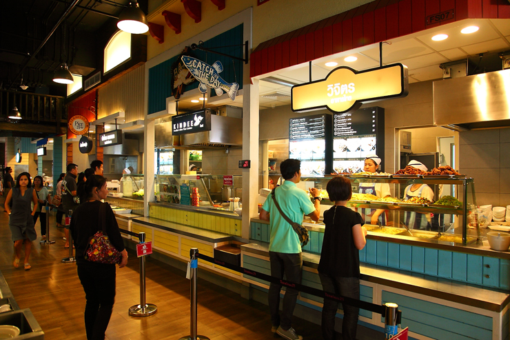 Pier 21 Mixed-Rice-Stall