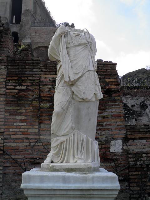 House of the Vestal Virgins (Atrium Vestae), Upper Via Sacra, Rome