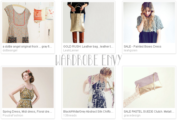 Etsy favourite lists : 'wardrobe envy' curated by Emma Lamb