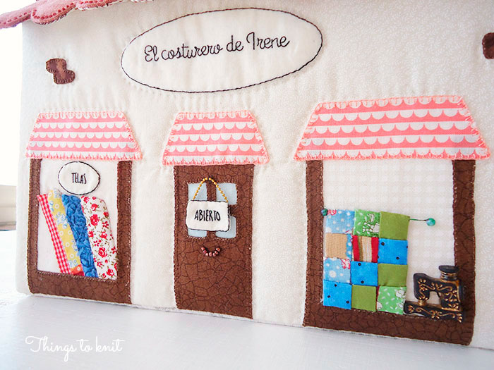 costurero de patchwork