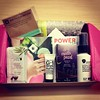 Heart my monthly #birchbox!! It's the gift that keeps on giving. #aphotoaday #17of365 #surprise #pink