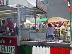 日, 2013-07-14 12:34 - 焼きソーセージ屋台