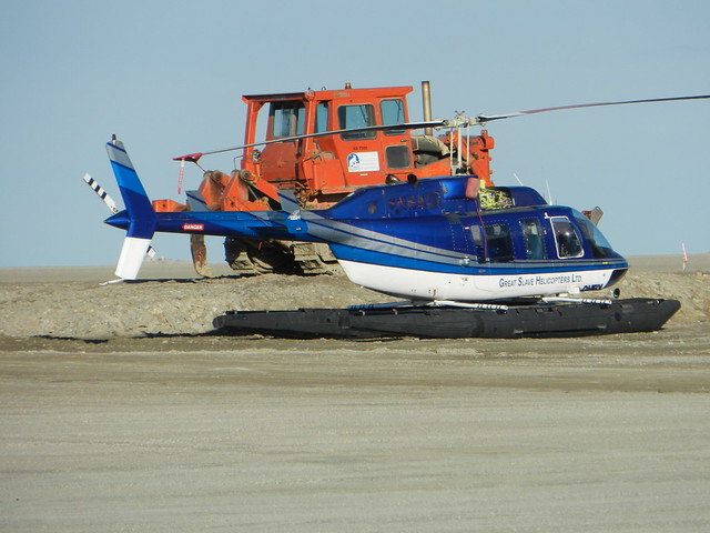 CGHYT Great Slave Helicopters B06 At Cambridge Bay Airport  Flickr  Photo