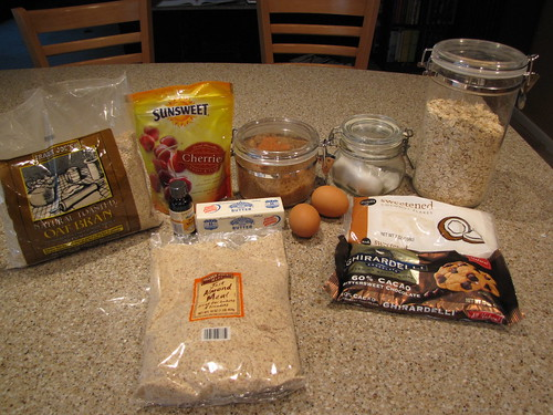 Gluten Free Cookie Ingredients