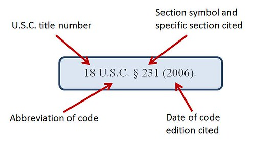 US Code Section Citation Example