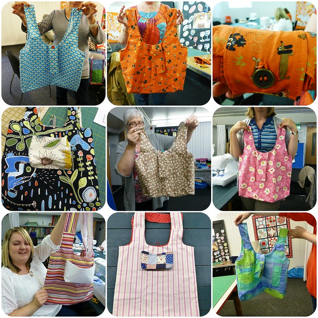 Eco Bags workshop Aug13