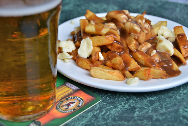 Poutine at Kingston, Ontario, Canada