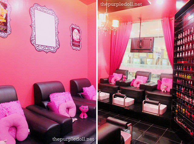 Pink Parlour SM North EDSA The Block Nail Area