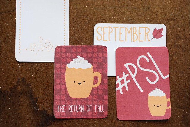 September Journal Cards