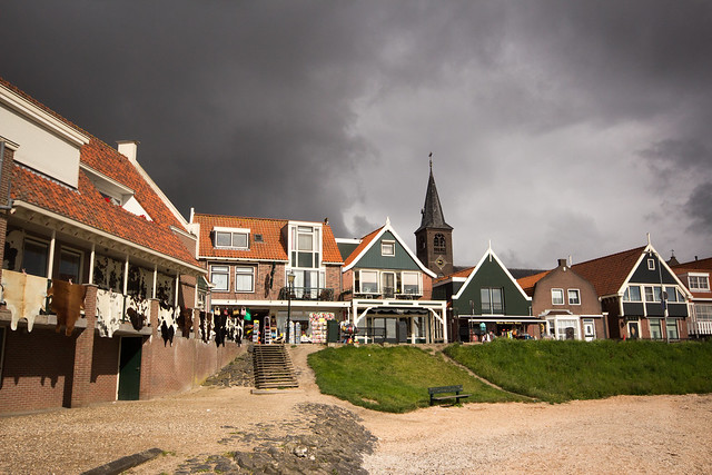 Volendam in Dramatic Light