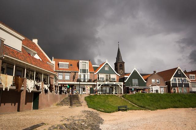 Volendam in Dramatic Light