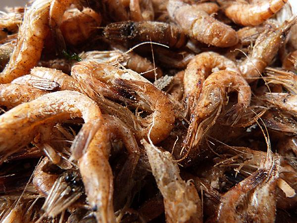 crevettes grillées au paprika