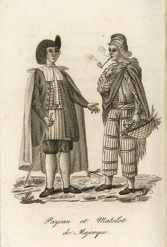004-L'Espagne et le Portugal, ou Moeurs, usages et costumes des habitans…1815- J.B. Breton