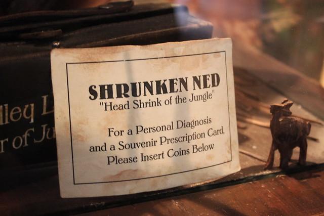 Shrunken Ned @ Disneyland