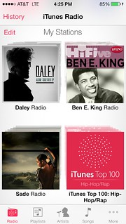 iOS7 iTunesRadio