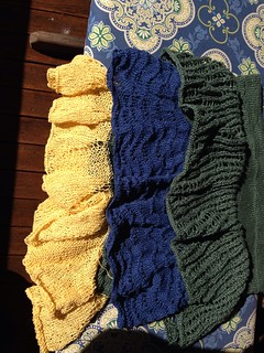 knit linen skirts