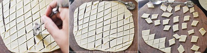 How to make sweet maida biscuits - Step3