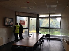 Duncan visits #Kilbarrack Fire Station #GreenPlan