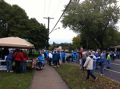 2013-10-5  Food shelf marathon in White Bear Lake