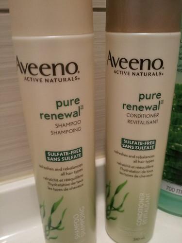 Aveeno Active Naturals Pure Renewal Shampoo + Conditioner