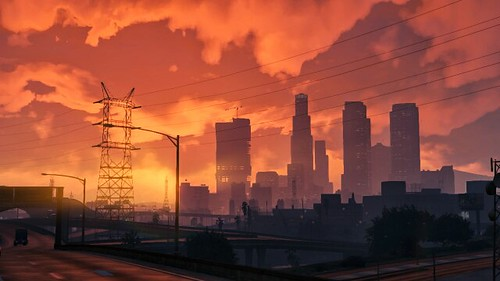 gta v sunset